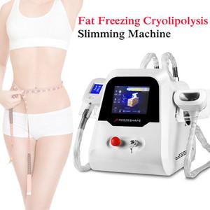2 poignées Cryolipolysis Fat Gel Lipofreeze congélation cool Body Sculpting machine à usage cryothérapie Beauté personnelle Minceur