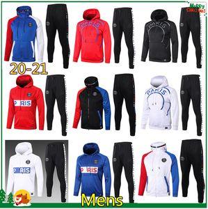 PSG Paris hoodie ceket 2020 2021 psg eşofman futbol ceket 20 21 MBAPPE şampiyonu Survêtement psg
