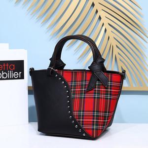 2020 Good Goods stallo Womens Bag in tessuto a quadri di cucitura portatile cross-body diverse dimensioni sacchetti delle signore della borsa del
