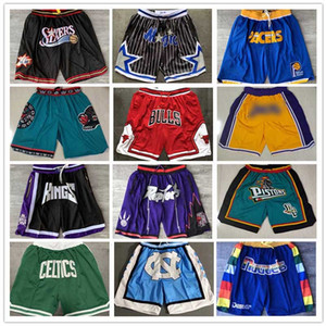 Chicago Hemen Bulls Basketbol Şort Memphis Houston Grizzlies Orlando Philadelphia Don Magic Toronto 76ers Denver Isı Raptors Nugget Miami