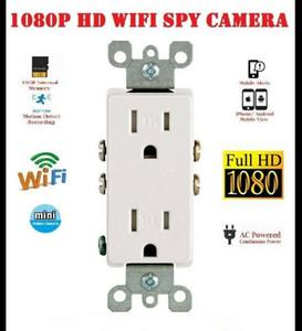 2020 de acceso WiFi 1080P módulo de descenso de la cámara de vídeo de cámaras de vigilancia toma de corriente toma de CA niñera ama de llaves