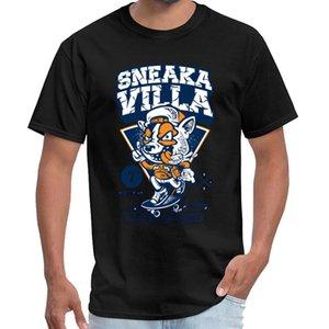Customize Sneaka Villa 7º Aniversário satanás camisa do t dos homens casa de papel acrescido tamanhos S-5XL padrão