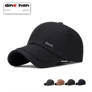 C2rKv День весна и осень HAT мужская осень открытого бейсбол среднего возраста и пожилых мужчины Зонт пожилой достиг своего пик остроконечной шапки шляпы защиты от солнца
