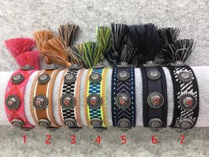 luxury designer jewelry women bracelets men bracelets weaving handrope brand bracelet New fashion woven bracelet bangle