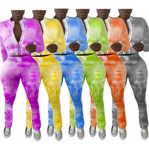 Womens Hoodie Legging Two Piece Set Outfits Long Sleeve Tracksuit Jacket Pants Sportswear Panelled Outerwear Tights Sports Set p367