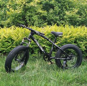 """26 """"moto de nieve 4,0 freno de gran ancho de espesor de montaña de neumáticos de bicicletas de absorción de doble disco integrado bicicleta de carretera de la playa de la rueda"""