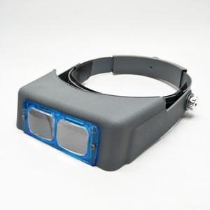 Stirnband Wartung Linsen Head-Mounted-Schmuck Glaslinse Schmuck-Lupe Wartung Vergrößerungs h7oyl