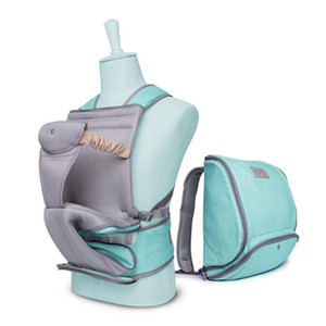 Stool Multifunctional All Year Baby Bag Waist Available #354 Carrier 2-In-1 Mummy Backpack Mommy Ddpmn