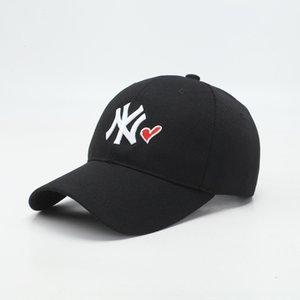 Yeni Hat Kadın Sivri beyzbol güneşlik beyzbol şapkası moda markası Gençlik güneş şapkası erkek rahat hepsi maç kapağı doruğa
