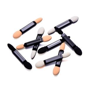 100pcs fard à paupières à usage unique pinceaux en éponge double face Applicateur Eye Shadow Brosses Double Ended pinceau de maquillage Ombre à paupières