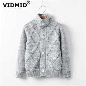 VIDMID Sonbahar kış Çocuklar bebek erkek ceket erkek kazak pamuk Bebek Boys ceket kazak çocuk giyim LJ200814 hırka