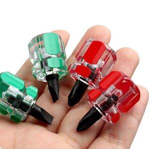 Phillips Ultra Werkzeuge Schlitz 2Pcs Zufalls Schraubendreher Farbe und Schraubendreher Treiber Mini Screw Hand vwuzX