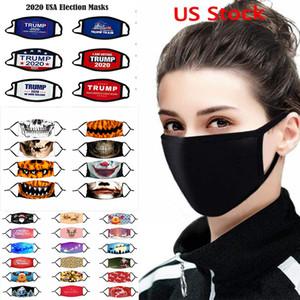 Da ajustável Rosto Anti Poeira máscara negra boca do algodão máscara máscara Muffle de Ciclismo Camping 100% máscaras de algodão lavável reutilizáveis de pano