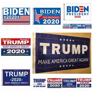 Joe Biden Trump 2020 Flag Brief Unterstützung Oppose Joe Biden Präsident USA 90 * 150cm Big Hanging Trump 2020 Flying Flag 10 Styles RRA3536