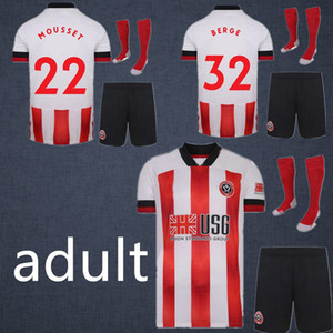 20 21 Sheffield Football Maillots BERGE 2021 hommes MOUSSET MCBURNIE FLECK adulte Football Shirt Lundstram États-NORWOOD SHARP 2020