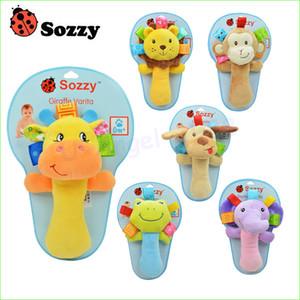 Sozzy müzikal bebek çıngıraklar Bebek bebek bebek oyuncakları hayvan peluş oyuncaklar Bene Çıngıraklar sevimli oyuncak peluş