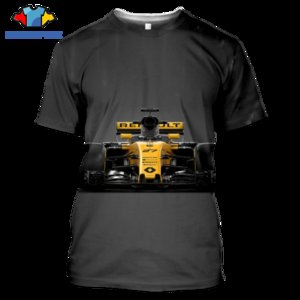 Formula One F1 3D Printed T-shirt Summer Men's Ladies Harajuku T-shirt Sports Athletic Racing Sportswear Short Sleeves
