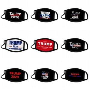 Gran Trump América Mascarilla Mantener oído que cuelga todas las banderas en el extranjero tren Presidente Votar estrellas de los EEUU Máscaras impresas Mascarilla 2 C2 2 bg