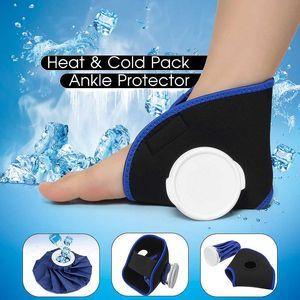 6 Ice Bag Pack Protector Elastic Tie Belt Set Reusable Knee Head Leg Injury Pain Relief Ice Bag Outdoor Sport First Aid