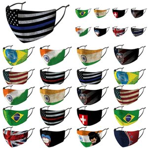United Kingdom Грот Австралия Cotton Обложка Пакетированных Флаги Ткань Страна Нос Скидка Индивидуально Маска Arab Akuak