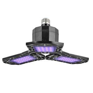 УФ дезинфекции лампы Бактериальный клещ Стерилизатор свет деформируемого LED Garage Потолочные светильники Безопасность Магазин лампы AC85-265V для Warehouse: Спортзал