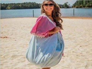 Designer-30pcs 2018 New Arrival Mulheres Homens poliéster grandes listras Abrir Hobo bolsas de praia crianças brinquedos de praia Receba Bag Seersucker Verão
