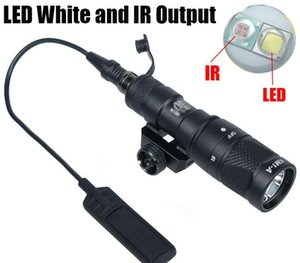 Light Gun tattico SF M300V-IR Light Scout LED bianco e nero Uscita IR