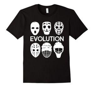 Masque Evolution shirt Gardiens de but - Ice Hockeies Joueur Cadeau Homme Harajuku Top Fitness Marque Vêtements unisexe Plus Taille et couleurs