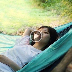 Xiaomi Youpin Zaofeng Hammock 300kg esterna paracadute campeggio Hanging sonno oscillazione letto portatile per Strada Viaggi Viaggio 3007
