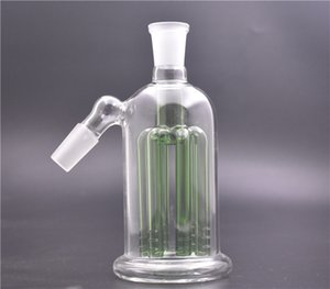 Glass Ash Catcher 14mm 18mm 5.5 Inch Mini Glass AshCatchers Bong with 8 arms tree percolator Bubbler water bong for dab rig