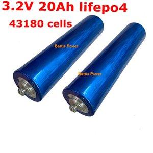 8pcs 3.2v 20ah Lifepo4 43180 battery for DIY 12v 24v 36v ebike UPS power lights EV pack car motor moped