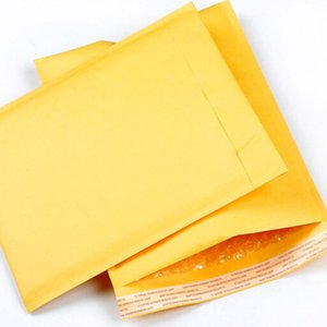 (130*230mm) 10pcs lots Bubble Mailers Padded Envelopes Packaging Shipping Bags Kraft Bubble Mailing Envelope Bags