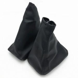Pour CORSA C 01 06 04 12 TIGRA B COMBO C 01 11 POMMEAU guêtres en cuir Boot Cover Car Styling Accessoires KDD2 #