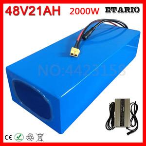 4 батареи 48V 10Ah 12Ah 13Ah 15AH 16Ah 18AH 20Ah Электрический велосипед литиевой батареи 48V 500W 1000W 2000W Батарея + 54.6V зарядное устройство.