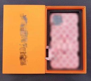 مصمم أزياء 12 برو حالة الهاتف الفاخرة فون غطاء حالات العلامة التجارية عارضة ل زائد 7 8 7P 8P X XS MAX XR 11 SE2020 Pro مع Box L 20062806CE