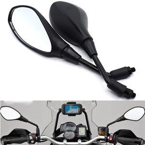 Универсальный 10мм Мотоцикл зеркало заднего вида LeftRight Зеркала заднего вида для Honda CB400 CB500F CB500X CB599 CB600 / F CB650F CB1000