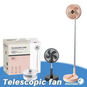 2020 Summer Cooling Mini Fan Telescopic Fan P10 Usb Charging Foldable Fan Portable Cool As Air Conditioner 7200mah Free Shipping