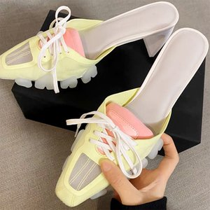 Women Slippers Crocodile Head PVC Sole Lace-Up Mules Shoes Women Sport Slides 2020 new Summer Celebrity Ladies Footwear Sandals