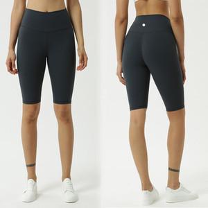 taille haute court sport de yoga de mode gymnase course Shorts Nu tissu extensible exercice entraînement de formation à moyen Shorts de yoga courte L-68