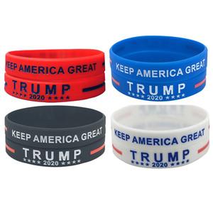 Alla moda Biden Trump Elezioni presidenziali 100% ECO gomma di silicone Bracelet Wristband di trasporto del DHL In magazzino