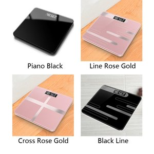 Scale Recharge LCD Display Measuring Weight Digital Bathroom Mini Body Weighing Electronic High