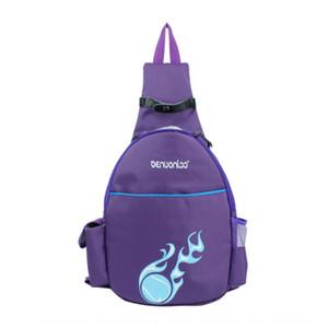 спорта на открытом воздухе Новый теннисный водонепроницаемый нейлон Открытый спортивный рюкзак бадминтон рюкзак мешок двойной мешок бадминтона