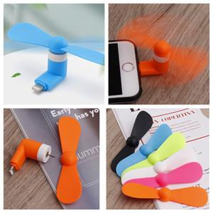 Портативный мини Micro USB вентилятор Mini USB мобильный телефон Вентилятор Вентилятор охлаждения для ноутбуков Android Type-C Вентиляторы Мульти Стили Телефон Мини Фанаты BH3973 такой анкеты