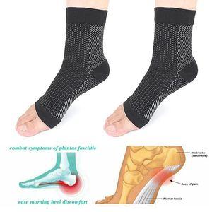 Far sfogare piede Anti Fatica calze a compressione manica Dolore Gonfiore tallone Mal di calzini plantare compressione manica Unisex