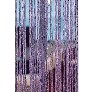 1x2M Divider Room Tassel Silver Silk Strong Window Door Tassel Hanging curtain Decoration