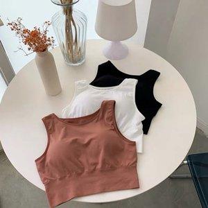 Armut eşleştirme -matching uyku sutyen sarma ön az yoga kablosuz spor Taban Omuz askısı omuz askısı tabanı yelek sarılı