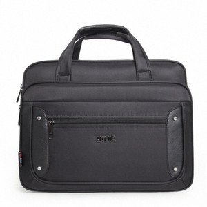 Mens Large Capacity Business Briefcase Male Handbags Laptop Bags 17 Inches Oxford Crossbody Travel Homme Bag s0ln#