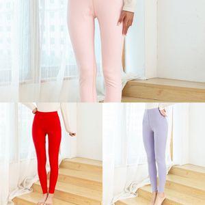 U3KdC NwkeD 2020 katyonik Sıcak büyük Tight dikişsiz katyonik pantolon Sıkı boyut sonbahar kumlama ısıtma sonbahar sıcak çift taraflı pantolon kadın l