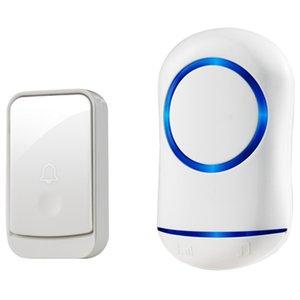 HOOLBells EU Plug 45 Песни Беспроводной дверной колокольчик Набор Home Безопасность Дверной звонок + Приемник Дождевиковая Инфильтрация