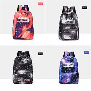 Biggie Orso Fortnite cielo stellato Fortezza Notte zaino Cool Daypack Via Schoolbag Spray Zaino Scuola di Sport sacchetto esterno Day Pack # 642